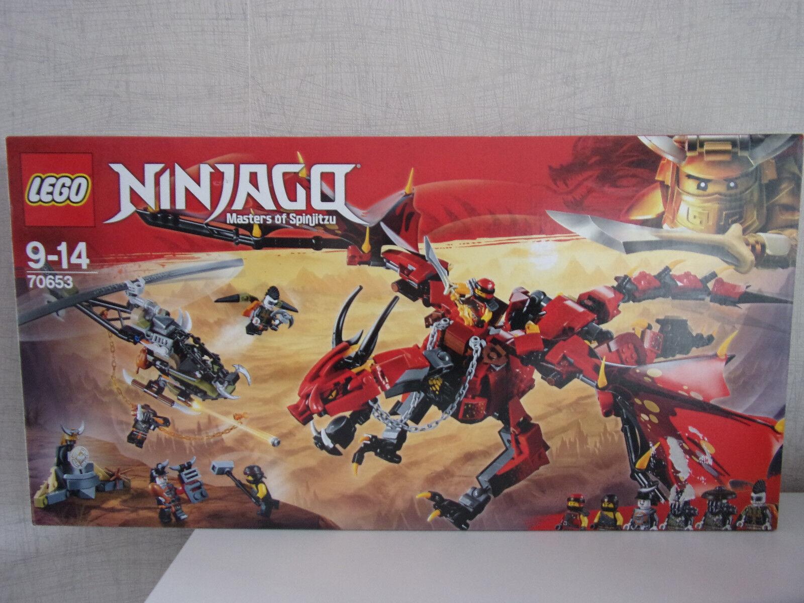 Lego Ninjago (Master of Spinjitzu) 70653 Mutter der Drachen - NEU (B-Ware)