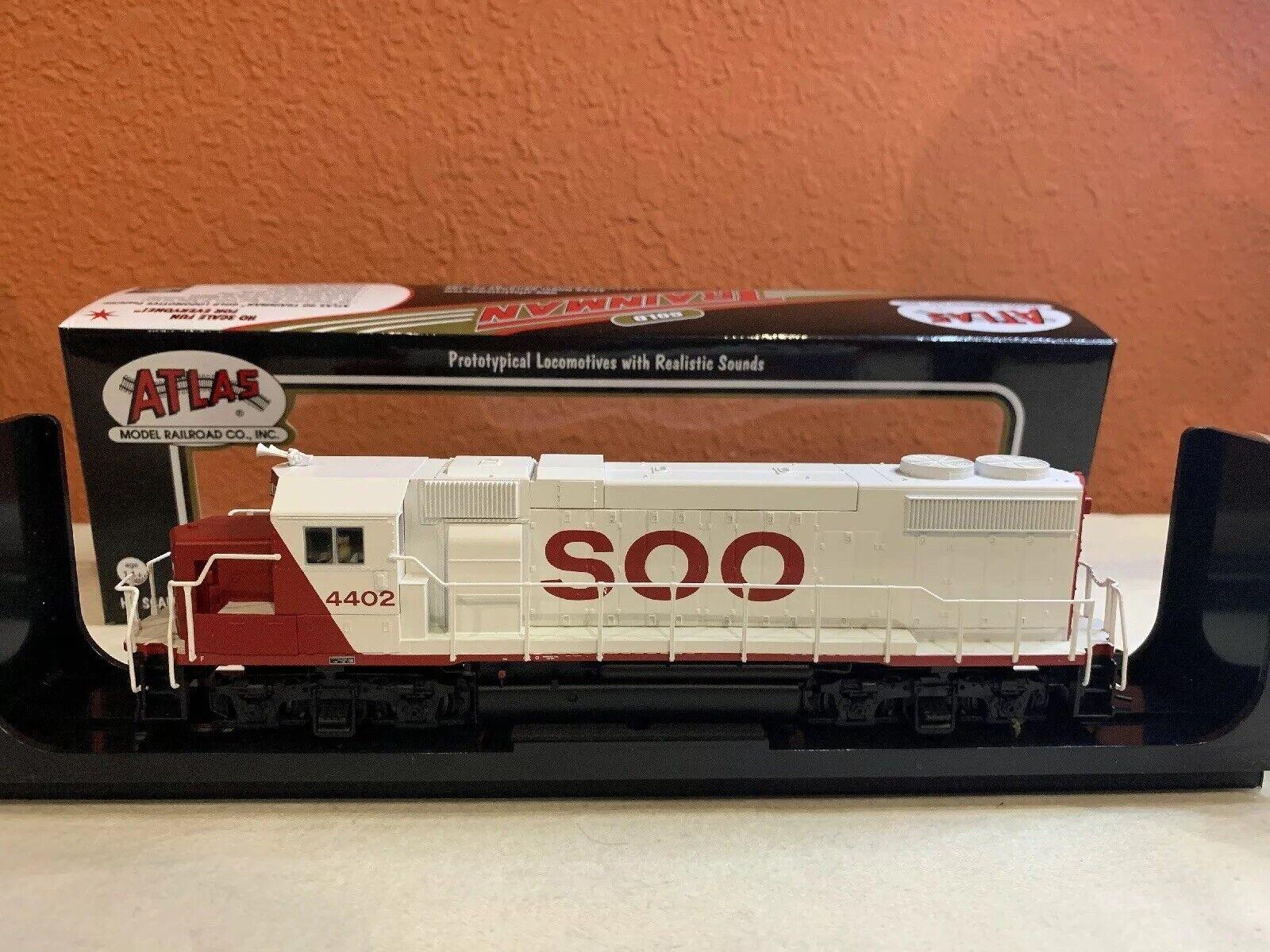 preferente Escala Ho Atlas Trainman artículo oro  10001768 10001768 10001768 GP38-2 Loco Soo Line  4402 Nuevo  wholesape barato