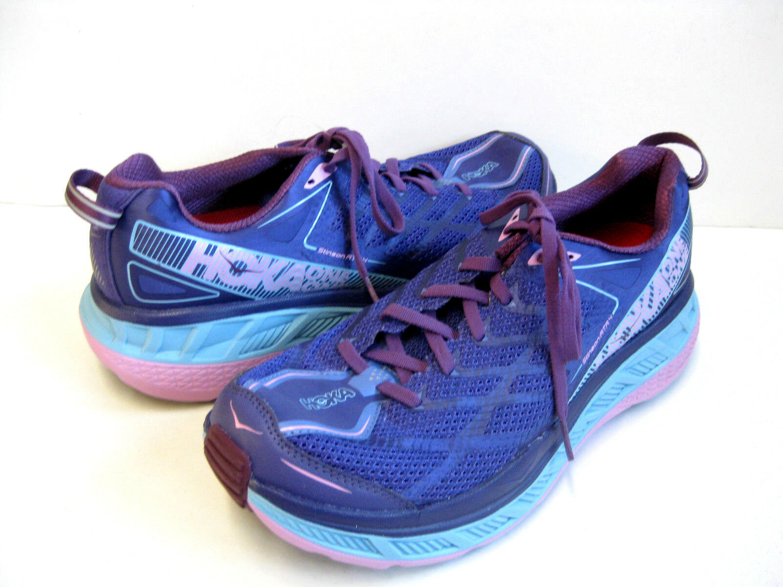 HOKA ONE ONE STINSON ATR 4 WOMEN SPORT SKY blueE US 6    3