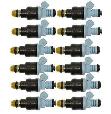 For BMW E30 325i 325is E31 850Ci 850CSi E32 750iL 525i Set of 6 Fuel Injectors