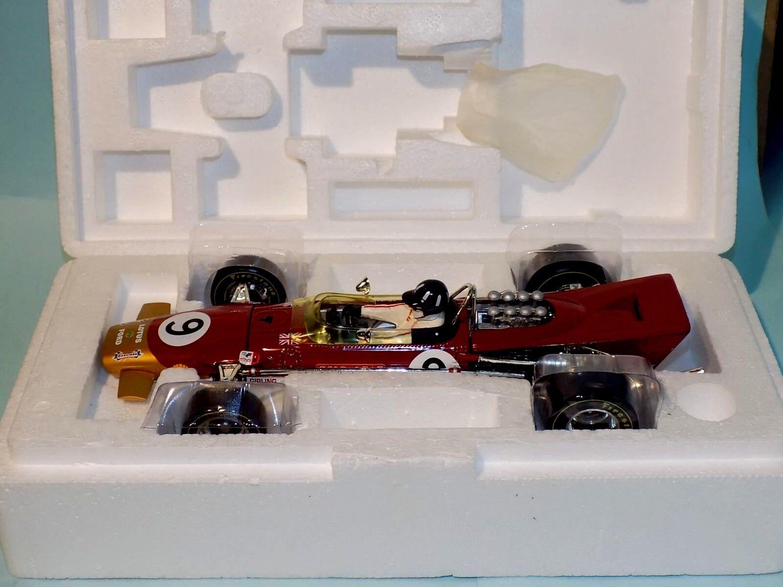 LOTUS 49B or Leaf 1st Grand Prix de Monaco 1968 quartzo Q9003 1 18