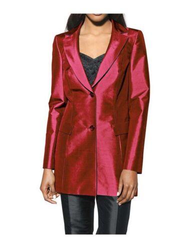 Long Blazer Rot S Designer Femmes Madan UqAwxwfZ