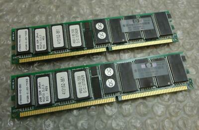 2x2GB 371049-B21 4GB PC2700 Memory for HP ProLiant