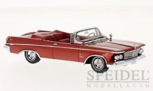 Maravilloso MODELCAR Chrysler Imperial Corona Corona Converdeible 1963 - 1 43 - lim.500