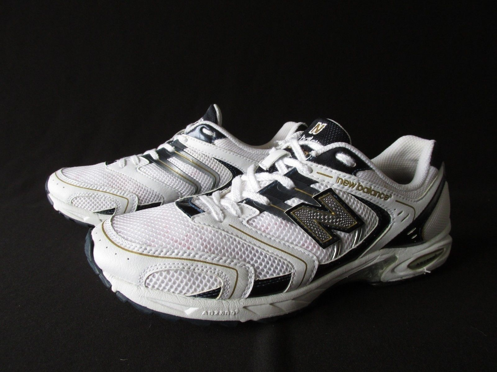 New Balance RC 600 White Navy Synthetic Mesh Running Shoes  Men's 7.5M NEW
