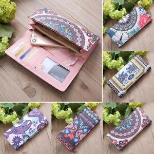 Lady-Fashion-Women-Leather-Clutch-Wallet-Long-Card-Holder-Case-Purse-Handbag