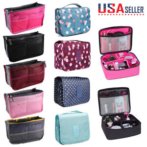 Lightweight-Makeup-Travel-Cosmetic-Bag-Pouch-Toiletry-Zip-Wash-Organizer-Various
