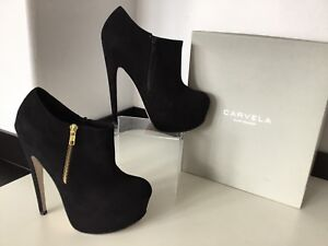Kane Shoe £130 By Uk Ankle Kurt 7 Suede Black Boots Kg Carvela 40 Geiger Rrp 0dzqazwZ