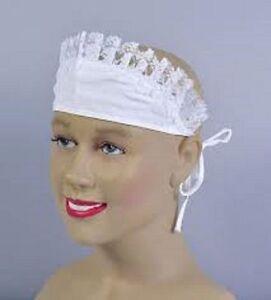 French-Maid-Hat-White-Victorian-Down-ton-Edwardian-type-waitress-child