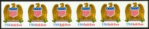 2603a-Bulk-Rate-Eagle-Imperf-RARE-22221-VF-NH-Strip-of-6