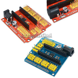 Nano-V3-0-Prototype-Shield-I-O-Extension-Expansion-Board-Red-Blue-For-Arduino