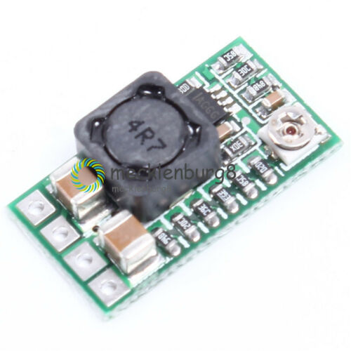 2//5PCS DC DC 4V 12-24V To 5V 3A Adjustable Step Down Power Module Buck Converter