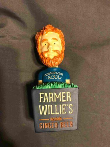 Farmer Willie Bobble Head Tap Handle