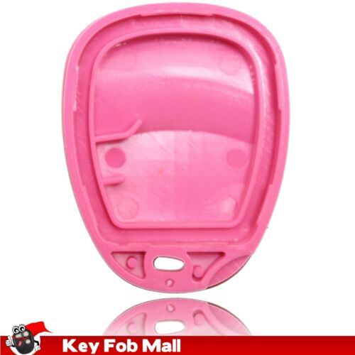 New Pink 4 Button Keyless Entry Remote Key Fob Shell Case Pad For 15184353