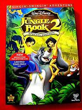 Jungle Book 2:Spec.Ed.DVD 2003 NEW OOP John Goodman Haley Joel Osment Mae Whitma