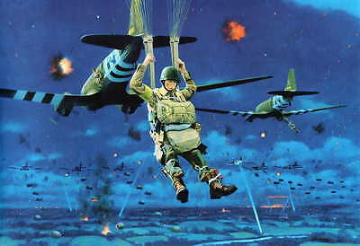 C-47 Airborne Easy Company D-Day Drop Large poster