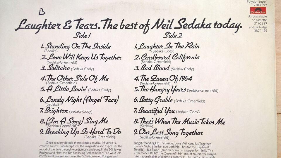 LP, Neil Sedaka, Laughter And Tears