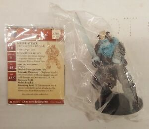D-amp-D-Dungeons-amp-Dragons-Miniatures-Night-Below-Frost-Giant-Jarl-52-w-Card