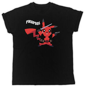 7fc12439 Image is loading FUNNY-PIKAPOOL-DEADPOOL-PIKACHU -IDEAL-GIFT-BIRTHDAY-PRESENT-