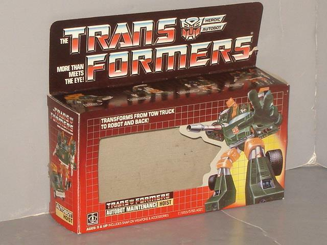 G1 transformator autobot - winde leere kiste viel   1  ziemlich nett.form