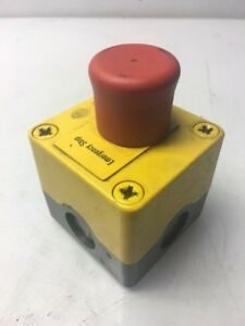 Klockner-Moeller-Emergency-Push-Button-w-Enclosure-Used-Warranty