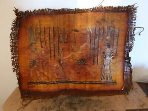 Rare-Antique-Ancient-Egyptian-papyrus-king-Menes-1stDynasty-War-Kill-Enemy3100BC