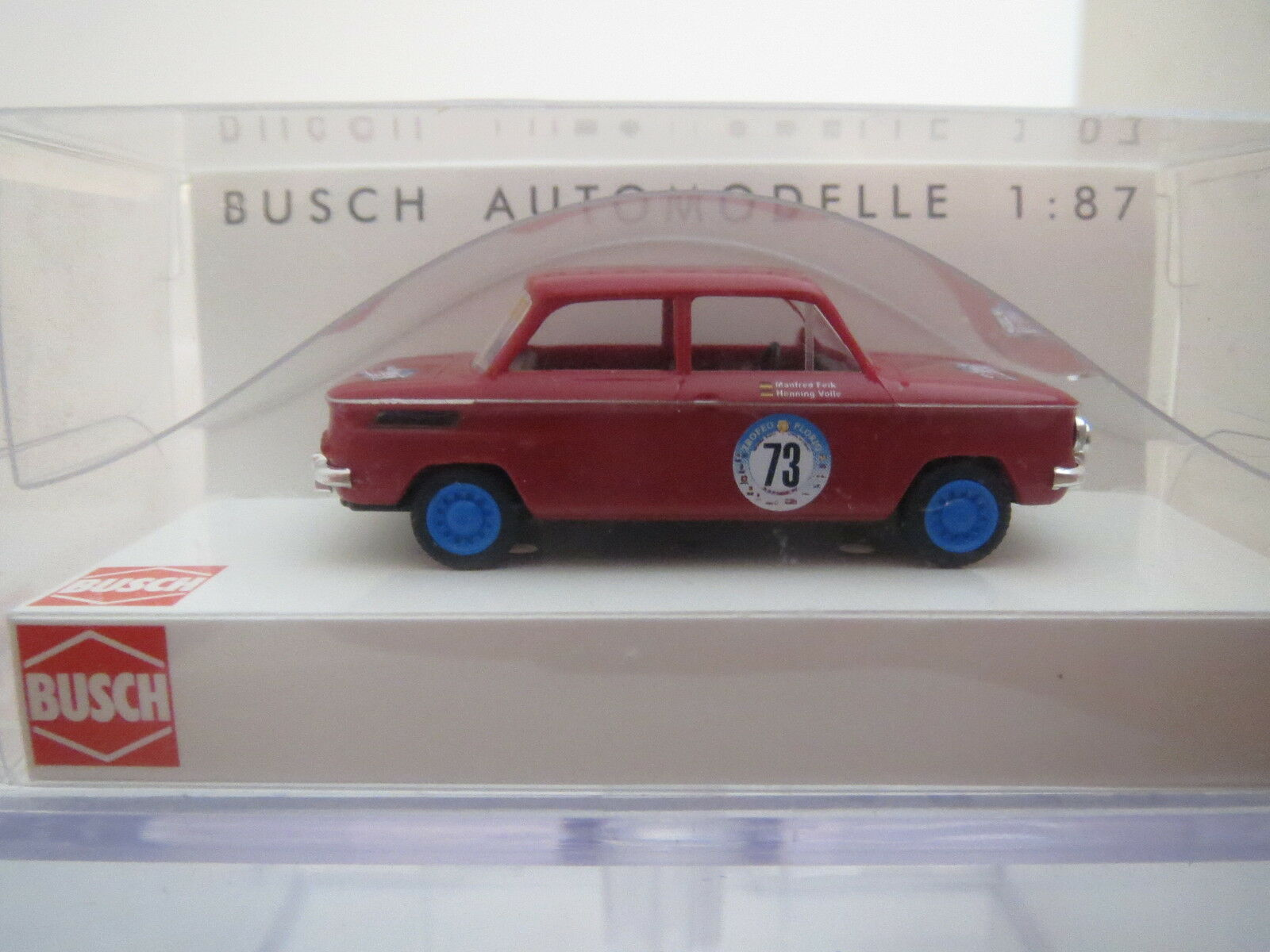 Busch 48406 NSU NSU NSU 1000 tt & gttrofeo Florio & LT 1 87, top  OVP e27468