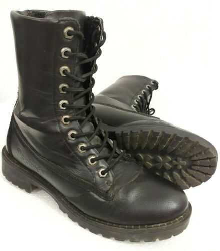 Dockers Womens SZ 38 US 6.5 Black Desert Combat An