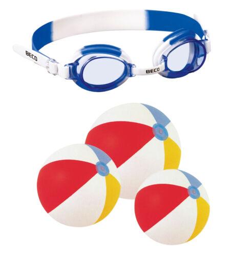 BECO Kinder-Schwimmbrille Halifax Schwimmbrillen Wasserball  NEU/OVP Taucherbrille
