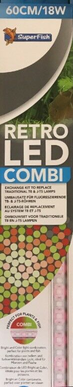 SuperFish RetroLED Combi Combi Combi T8&JT5 60cm 18W) A4020375) 6fed1b
