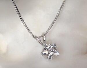 Circonita-Cubica-Colgante-de-Estrella-Plata-Ley-16-45-7-50-8cm-Collar-Examen