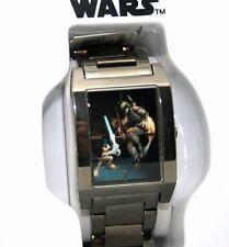 Star Wars Watch Disney Park Mickey Limited Ed 500 Made Grey Ion Finish Watch NEW