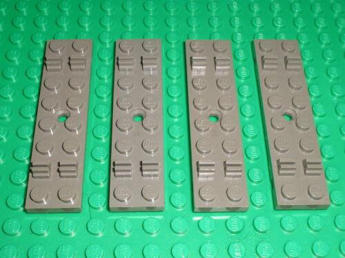 4 x Traverse rail LEGO TRAIN Track Sleeper 4166 / Set 7745 7722 7735 7727 7715..