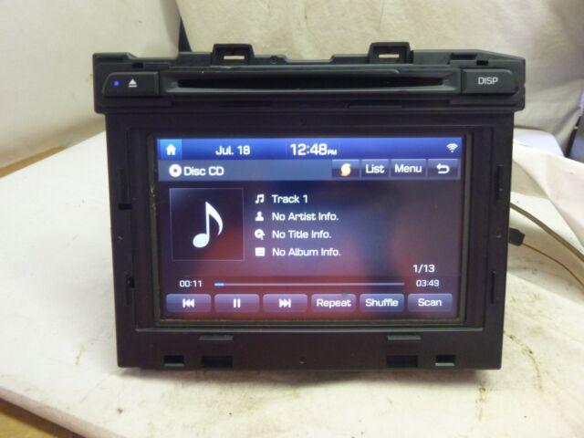 15 16 2017 2016 Hyundai Sonata Radio Cd Receiver Parts Only 96160 C20004x Sat70