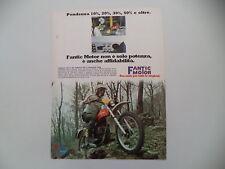 advertising Pubblicità 1977 MOTO FANTIC CABALLERO 125 RC/50