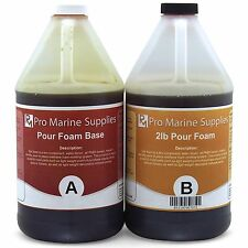 Pour Foam 2 LB Density - Liquid Urethane Insulation Marine Grade - 1 Gallon Kit