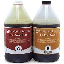 Pour Foam 2 LB Density - Liquid Urethane Insulation Marine Grade - 1 Gallon Kit