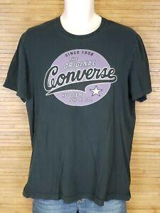 Converse-Black-Graphic-T-Shirt-Mens-Size-Large-L