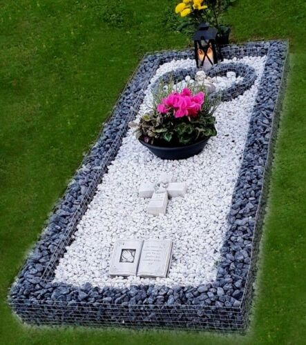 200 x 90 x12cm Grabumrandung Grabeinfassung Urnengrab Einfassung Urnenumrandung