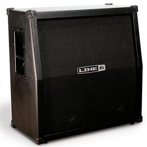 line 6 spider ii 412 slant guitar speaker cabinet floor model mk412 614252000208 ebay. Black Bedroom Furniture Sets. Home Design Ideas