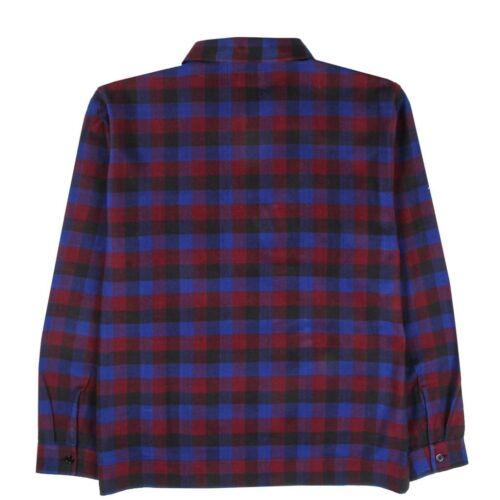 "111882 Men/'s Brand New /""STUSSY/"" HALF ZIP UP Graphic Design Topic Fashion Shirt"