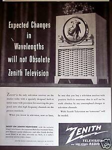 Have removed Round screen vintage televisions those