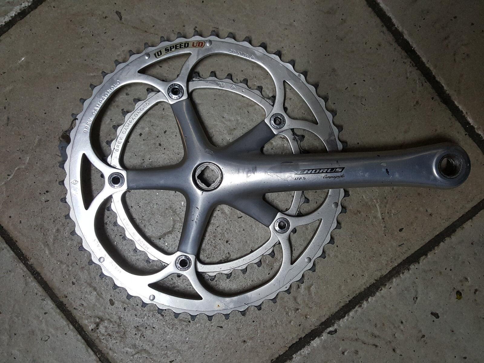 Guarnitura destra Campagnolo Chorus  10 bike right Crankset 172.5 53-39  compras de moda online