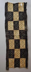 African-Kuba-Natural-Woven-Raffia-Congo-Handmade-Fabric-Kuba-Cloth