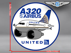 UNITED-AIRLINES-UAL-PUDGY-AIRBUS-A320-A-320-DECAL-STICKER