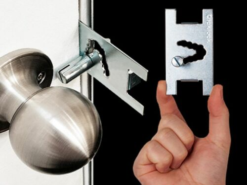 Qicklock-Temporary Portable Door Lock Travel Security Lock x 2 Safety
