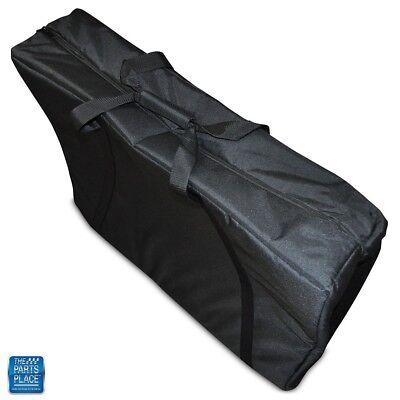 GM Cars Jack Storage Bag Aqua Houndstooth