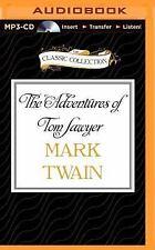 The Adventures of Tom Sawyer by Mark Twain (2015, MP3 CD, Unabridged)