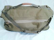 Eddie Bauer Rolling Duffel Bag Green Luggage Travel  Duffle bag