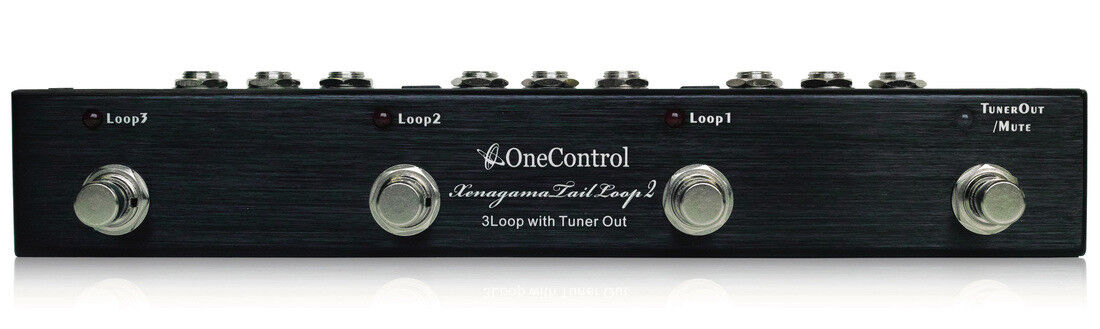 One Control Xenagama Tail Loop 2 3-Loop Switcher Guitar Looper Pedal